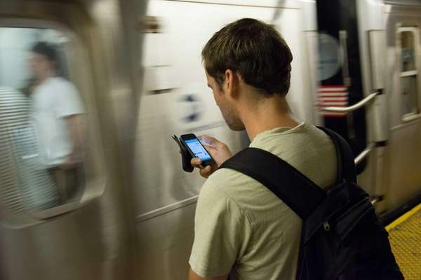 Free Wi-Fi service is available to subway riders