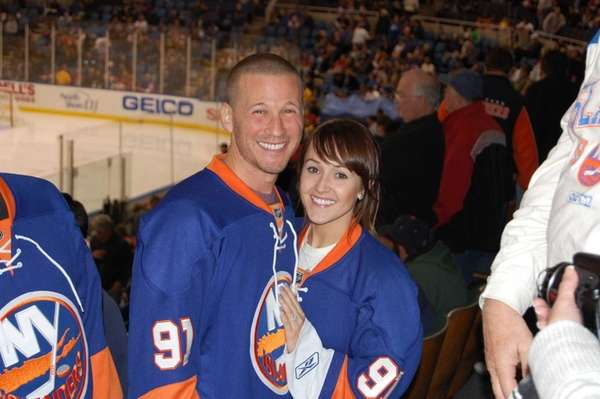 Ashley Hebert and JP Rosenbaum of