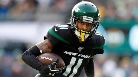 Robby Anderson had 52 catches for 779 yards