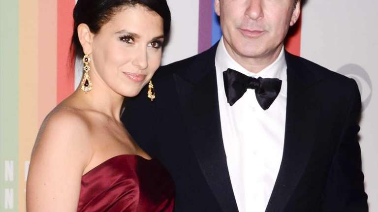 Hilaria Thomas and Alex Baldwin at the 35th
