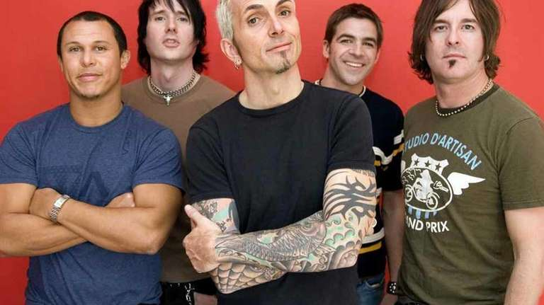 The band Everclear performs with Eve 6 at
