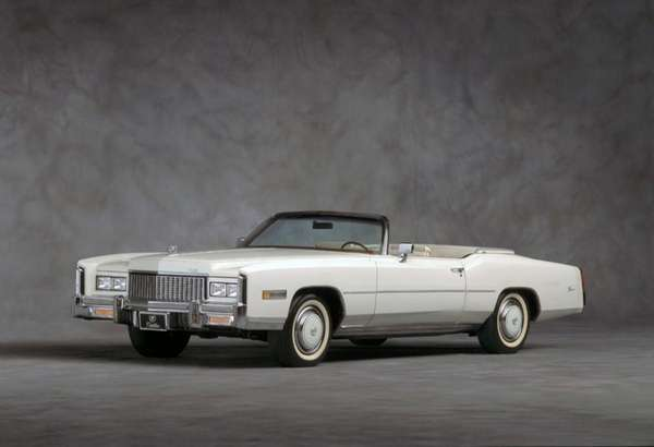 Cadillac advertised its 1976 Eldorado convertible as ?the