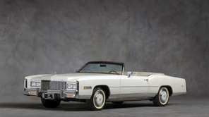 Cadillac advertised its 1976 Eldorado convertible as the