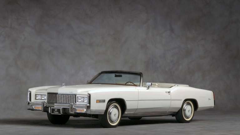 "Cadillac advertised its 1976 Eldorado convertible as ""the"