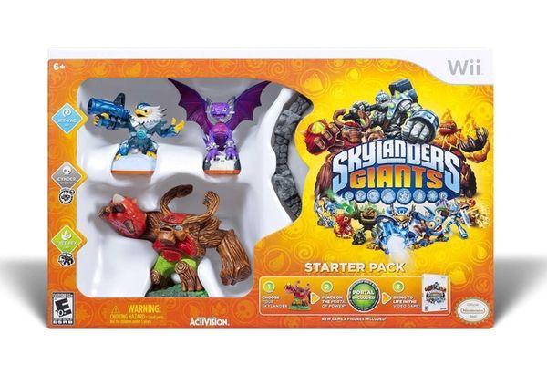 Skylanders Giants (Activision, $74.99 for starter Pack for