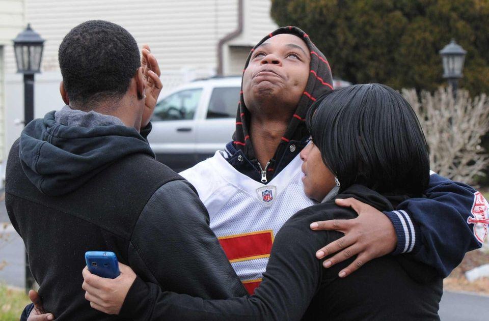 Eric Oakes, 20, cousin of Kansas City Chiefs