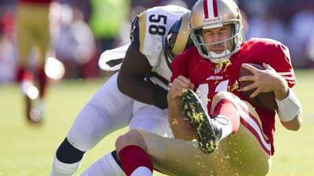 San Francisco 49ers quarterback Alex Smith (11) is