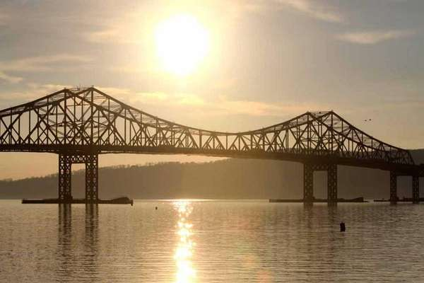 A view of the Tappan Zee Bridge at