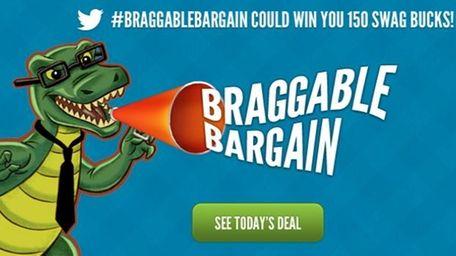 Swagbucks.com offers rewards for shopping online.