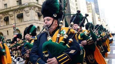 The St. Patrick's Day Parade, held annually in
