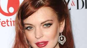 Lindsay Lohan attends the premiere of Lifetime's