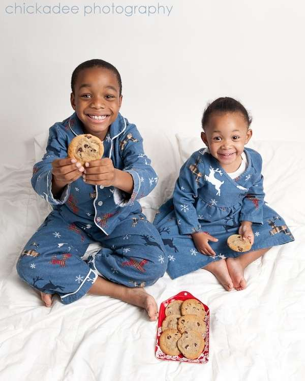 Take photos of kids on Hanukkah nights or