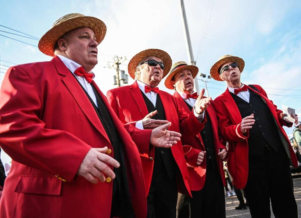 The Harbormen Chorus perform during the Port Jefferson