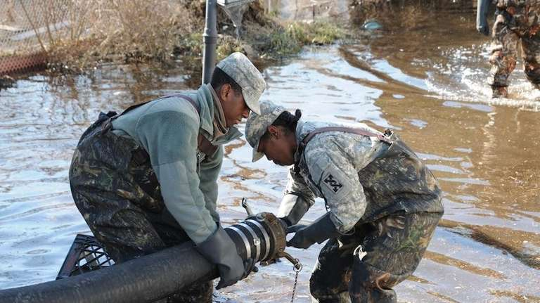 U.S. Army Reserve soldiers from the 377th Theater