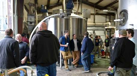 The owners and brewers of several Long Island