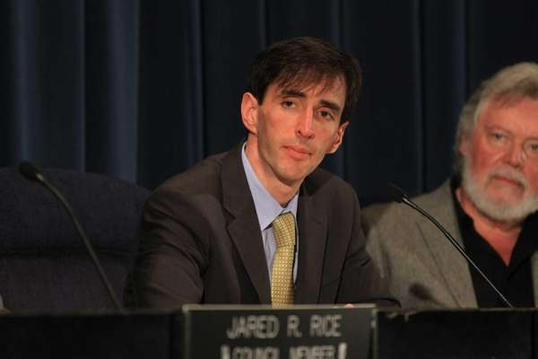 New Rochelle Mayor Noam Bramson attends a City