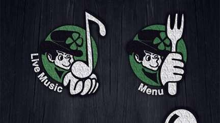 The face of the Nutty Irishman's app.