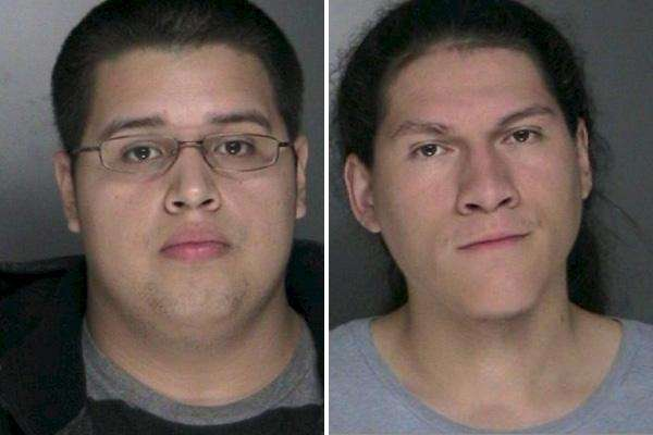 Albert Munoz and Freddy Benavides Jr. were arrested,