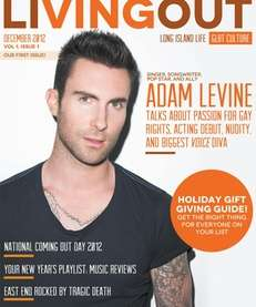 The inaugural issue of Living Out, a new