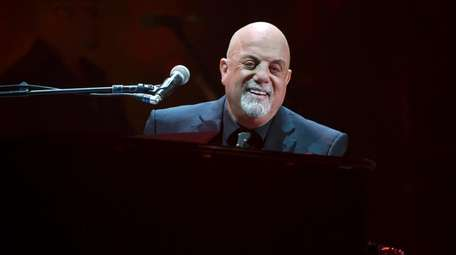 Billy Joel performs during his 100th lifetime concert