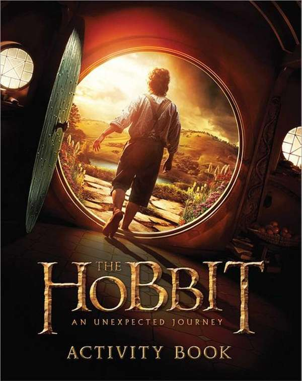 """The Hobbit: An Unexpected Journey Activity Book"" (Houghton"