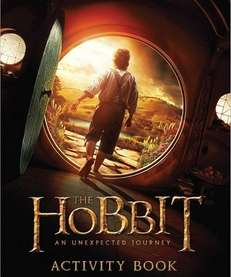 quot;The Hobbit: An Unexpected Journey Activity Bookquot; (Houghton