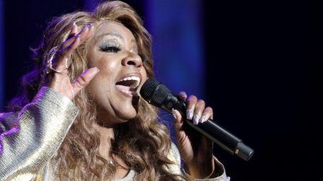 Gloria Gaynor performs at the Grammy Awards celebration
