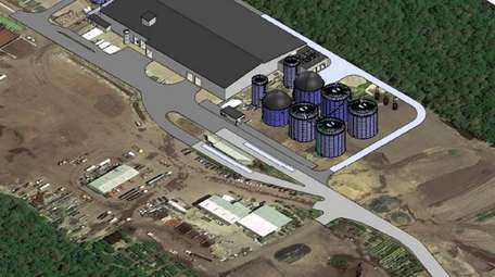 A rendering of the proposed facility at Long