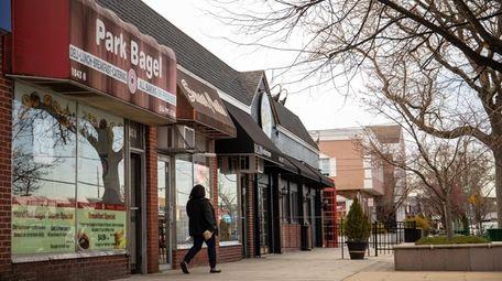 Stores on Park Boulevard in Massapequa Park. The