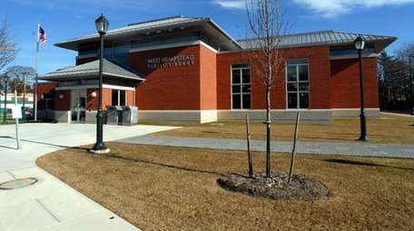 In West Hempstead, officials have suspended all library