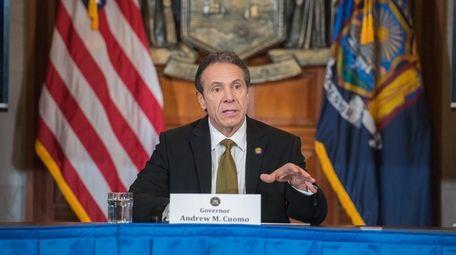 Gov. Andrew M. Cuomo said Thursday in Albany