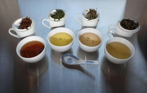 Teas that are destined to be sold loose