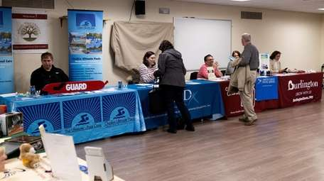 Suffolk County's One-Stop Employment Center hosted a job