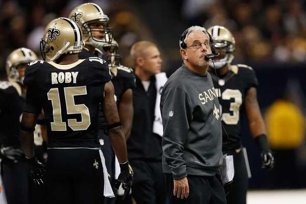 New Orleans Saints interim head coach Joe Vitt