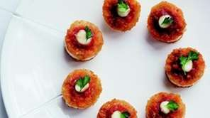 The Chicken Parmesan Lollipops recipe can be found