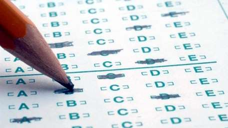 Long Island school district officials and the testing