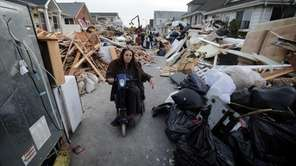Long Beach resident Laurise Frey, who is wheelchair-bound,
