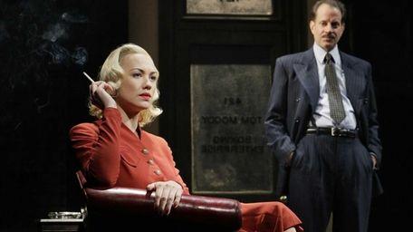Yvonne Strahovski, left, and Danny Mastrogiorgio in Lincoln