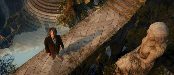 "English-born Martin Freeman portrays Bilbo Baggins in ""The"