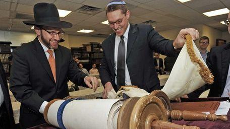 Congregation Kehilath Israel of Kansas City, Kansas donated