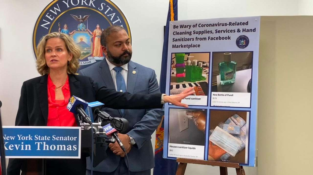 Nassau County officials on Friday warned consumers about