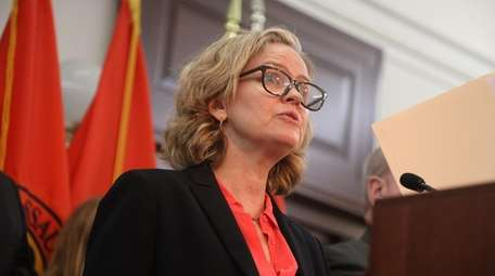 County Executive Laura Curran gives a status update