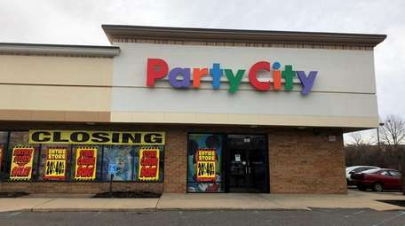The Party City store on Broadhollow Road in
