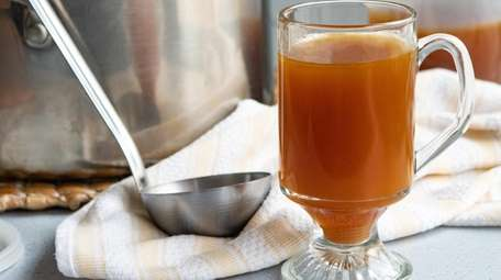 Roasted chicken broth can be the base for