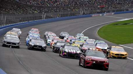 NASCAR and IndyCar were originally scheduled to run