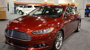 The 2013 Ford Fusion at the Long Island