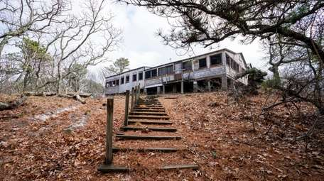 The dining hall at Peconic Dunes 4-H Camp