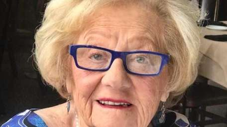 Harriet Rowan on her 99th birthday this past