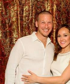 """The Bachelorette's"" JP Rosenbaum and Ashley Hebert celebrate"