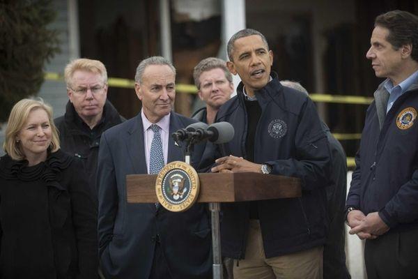 President Barack Obama holds a news conference on